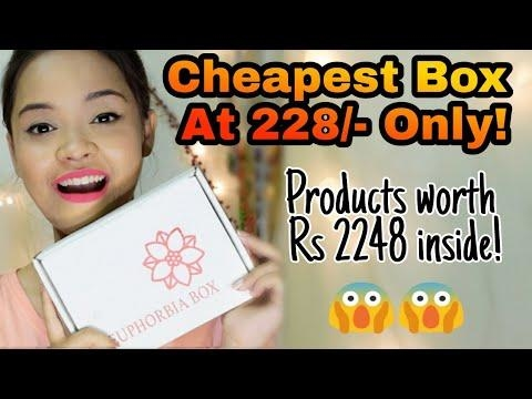 Euphorbia Box April 2018 @228 || Free bag + Products worth Rs 2248 || Sayantani Some . . . #euphorbiaboxunboxing #euphorbiabox #euphorbiabox #euphorbiaboxapril #aprileuphorbiabix #cheapestbeautysubscriptionbox #cheapestbox #affordablebeautybox #beautysubscriptionbox #youtuber #indianyoutuber #kolkatayoutuber #bengaliyoutuber #vlogger #blogger #kolkatabeautyblogger #kolkatablogger #ropobeauty