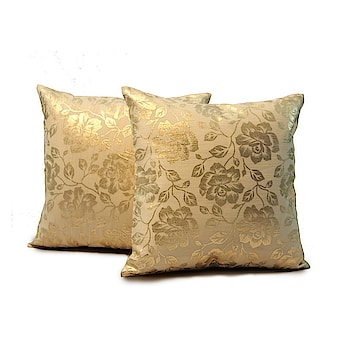 Designer Silk, cotton Gold foil printed, worked Dark and  light color Cushion Covers of different tastes, with #wallets, Gloves, Women's cluthes and much more.  https://www.amazon.in/dp/B07BKW7WPD  #pillow #Designerpillow #pillowcase #gloves #clutches #womenclutches
