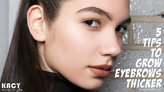 Do you also believe bushy equals better when it comes to your eyebrows? If yes, we've put together a list of our favorite hacks that'll help to boost your eyebrow growth.