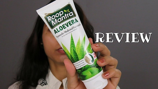 Roop Mantra Aloe Vera Face Wash- Review | omnistyles