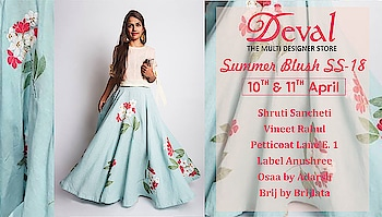 Launching Today all New Summer collection to refresh your summer wardrobe from Casuals to Evening Wear by all your favorite designers at Deval The Multi Designer Store For more details please call us at +91 98984 22000 #stylish #designerwear #designercollection #garments #clothing #womenswear #multidesignerstore #designeraccessories #dresses #skds #kurtas #devalstore #ahmedabad #newcollection #latestcollection #devalthemultidesignerstore #luxurydesigner