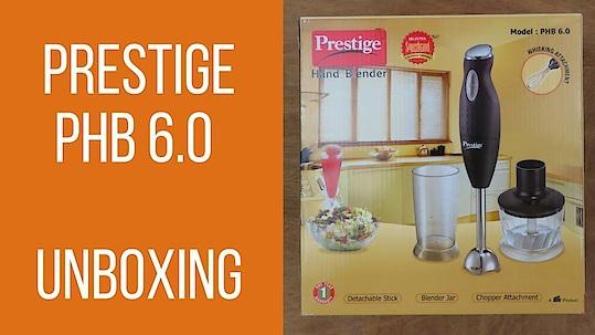 Prestige PHB 6.0 200 Watt 2 Speed Hand Blender- Unboxing | #vtraveller