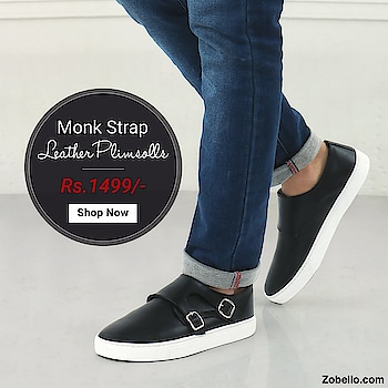 Being a gentleman never goes out of fashion   😎 | Monk strap plimsolls, crafted for true gentlemen | Shop @ https://goo.gl/2yiX9b   #menswear #fashion #shopping #shoes #plimsolls #streetstyle #partywear #fauxleather