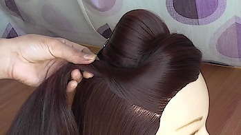 """Beautiful Hairstyie For Girls/Womens easy everyday hairstyle \\ hairstyle for college \\work \\party  \\outgoing \\long hair hairstyle Your hair is your best #accessory, so """"change your hairstyle time to time""""  #Beautiful #Hairstyle For #WeddingFunction & #Party  #Cute #fashionable #trendy #longhair #shorthair #besthair  #hair #hairtstyle #hair #cute #easy #hairstyleing #hairstyleoftheday #hairstyletips  #whileworking  #anamsiddique #hairstylist #hair-do #hairstyle"""
