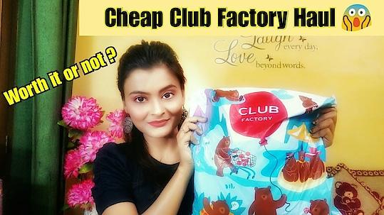 #clubfactory #haulvideo