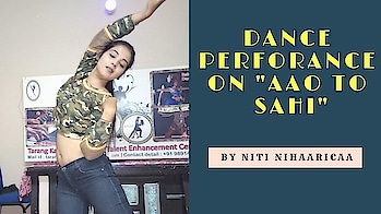 " Aa Toh Sahi  from  Judwaa 2  Movie   Dance  by  Niti Nihaaricaa   After a long time I upload my dance video to all my lovable followers on ""aao to sahi"" song from ""Judwaa 2"" movie. Don't forget to hit Like, do Share my Video & Subscribe my Channel. #nitinihaaricaa #tarangkalamanch #danceperformer  #aatohsahi  #judwaa2  #danceperformance  #youotubevideo"