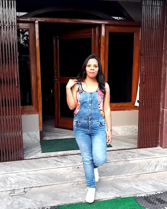 Dungaree love...Denim Dungaree from @faballey  teamed with a tank top and my favorite pair of sneakers from @trufflecollectionindia ... Summer outfit idea . . . #fashion #blogger #fashionblogger #roposoblogger #fashiondiaries #roposodiaries #bloggerdiaries #bloggerbabe #bloggerlife #bloggerstyle #indianblogger #roposostyle #roposolove #myroposostory