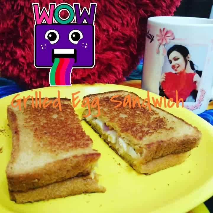 A good breakfast fuels you up 💃 and gets you ready for the day.  😇👻  . Grilled Egg Sandwich in the mornibg #healthyfood #breakfast #egg #grilledsandwich #foodshot #healthylife #bloggerlifestyle #foodiemeetup #stylooo #foodblogger #delhibloggergirl #wow