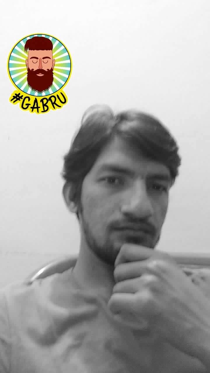 Aah Suraj mein hoti he #firstpost #roposo #ropo-style #beardlife #gabru