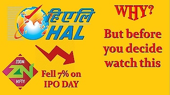 HAL IPO Review | Hal IPO 2018 | HAL IPO date | long term investment strategies | Zoom Nifty