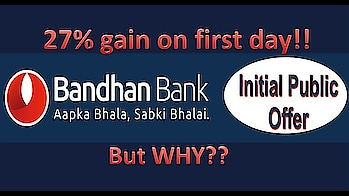 Bandhan Bank IPO review | Bandhan Bank IPO price | Long term Investing in stocks | Zoom Nifty