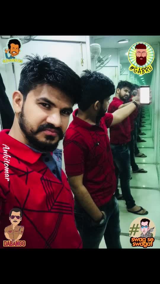 My kinda SUNDAY!!!😍😇🧔🏻 #sunday #funday #sundayfunday #grooming #hairstyle #newhaircut #movieshow #showtime #rampage #rampagethemovie #shopping #favtimepass #newhairstyle @gucci #levis #armani #iphone #iphone7plus #gabru #captures #selfieking #beardo #beardeddragon #lookgoogfeelgood #lookgoodfeelgood #gabru #dabangg #jhakkas #swagseswagat