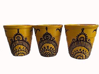 #Mittibazaar #Terracotta #Earthenware #Handmade & Hand painted And Multicolored Agarbatti Stand, Art Style Tea Pot, Table Lantern, candle Wax Holder, earthen pots and various earthen fancy items on mittibazaar.  https://www.amazon.in/dp/B07BK1BQJP #agarbattistand #handpainted #teapot #tablelantern #waxholder #earthenpots #homedecor #decor