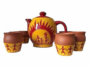 #Mittibazaar #Terracotta #Earthenware #Handmade & Hand painted And Multicolored Agarbatti Stand, Art Style Tea Pot, Table Lantern, candle Wax Holder, earthen pots and various earthen fancy items on mittibazaar.  https://www.amazon.in/dp/B07BK3WWJ1 #agarbattistand #handpainted #teapot #tablelantern #waxholder #earthenpots #homedecor #decor