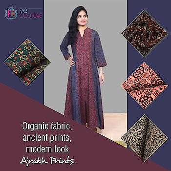 #Organic fabric, #ancient #prints and modern look - #Ajrakh prints only at Fab Couture!  Grab your fabric at : https://fabcouture.in/ #FabCouture! #DesignerFabric at #AffordablePrices  #DesignerDresses #Fabric #Fashion #DesignerWear #ModernWomen #DesiLook #Embroidered #WeddingFashion #EthnicAttire #WesternLook #affordablefashion #GreatDesignsStartwithGreatFabrics #LightnBrightColors #StandApartfromtheCrowd #EmbroideredFabrics