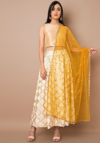 Try new things. Play around with fashion.   SHOP Lace Mesh Dupatta - https://goo.gl/7Ajwzh  Mustard Scallop Lace Mesh Dupatta ₹ 1600  @Indya  #women-clothing #roposo #fashion-addict #party-edit #party #party-wear #clothes #Fashion #loveyourself #Mesh-Dupatta #Dupatta #beauty #styles #love #followme #like #fashion #Mustard #celebration #trending #roposogal #wow #roposolove #Summer #Wedding #Indya #traditionaldress #ethnic #Indo-Western #Scallop