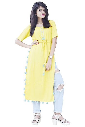Fashion is about dressing according to what is fashionable style is more about being yourself Here are some trendy and fashionable dress from the house Rajkumari click on the images for purchaing. #trendydress #fashionabledress #stylishkurti #casualkurta #long kurta   Buy now:- https://amzn.to/2JYxuLg