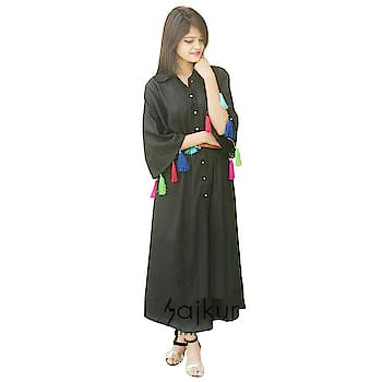 Fashion is about dressing according to what is fashionable style is more about being yourself Here are some trendy and fashionable dress from the house Rajkumari click on the images for purchaing. #trendydress #fashionabledress #stylishkurti #casualkurta #long kurta   Buy now:- https://amzn.to/2Hg0IDM