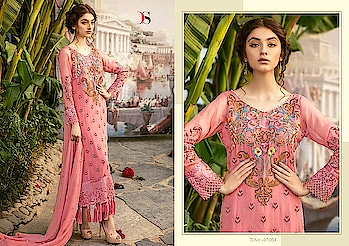 DEEPSY NORA GEORGETTE PAKISTANI STYLE SALWAR KAMEEZ WHOLESALE READDY TO SHIP  DISCOUNT 7% PRICE: 1199*7 + 5% GST  BOOK YOUR ORDER NOW........ For more info You Can #Contact Or #Whatsapp On :9687533166 Email: textilebazar299@gmail.com Add emoji
