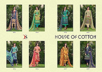 DEEPSY HOUSE OF COTTON PURE COTTON EMBROIDERED SUITS WHOLESALE PRICE READDY TO SHIP  DISCOUNT 7% PRICE: 1199*7 + 5% GST  BOOK YOUR ORDER NOW........ For more info You Can #Contact Or #Whatsapp On :9687533166 Email: textilebazar299@gmail.com