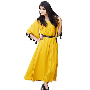 Fashion is about dressing according to what is fashionable style is more about being yourself Here are some trendy and fashionable dress from the house Rajkumari #trendydress #fashionabledress #stylishkurti #casualkurta #long Karta    Buy now:-https://amzn.to/2HLzHcg