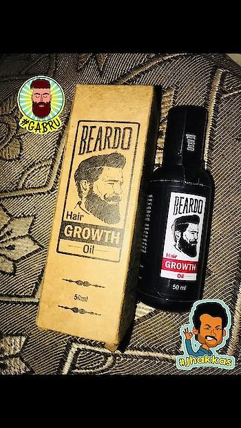 For the best care and nourishment of ur gabru partner!!! For Ur beard and moochh!!! #beard @beardo @saintbeardindia #kundimuch #kundimuchh #beardcare #beardcare #beardogrowthoil #gabru #product #gabru #jhakkas