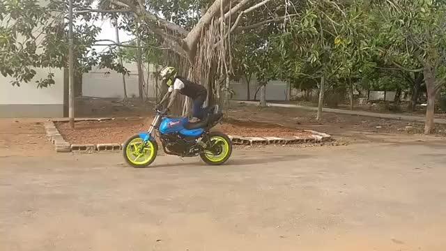 #sportbikefreestyle #wheelies #lowtower #semiwatchtower #raw #video #stunt #rider #bikestunt #motorsport #passion #blue #bike #biker #bikelife #hardwork #pushlimits #nevergiveup #motivation #livelife #athlete #india