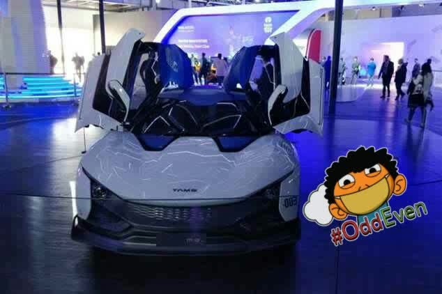 Auto Expo 2018 has seen the unveiling of multiple electric vehicles and theTataRaceMo +- electric is one of them. The Tata RaceMo was unveiled for the first time at 2017 Geneva Motor Show but that was a petrol engine powered model. The Tata RaceMo's engine is mounted on the rear and the two-door sportscar is the first such vehicle to be made by the company. The car has been designed at the company's design studio in Italy. The Tata RaceMo that was showcased at the 2017 Geneva Motor Show was powered by a 1.2-litre Revotron petrol engine. The said engine fitted on the RaceMo is good for churning out a maximum power and torqueoutputs of 186 hp along with a peak torqueof 210 Nm. The engine is mated to a six-speed AMT gearbox that comes with paddle shifters for a sportier feel. The company claims an acceleration time of 6 seconds from 0 to 100 kmph for the RaceMo.Auto Expo 2018: Tata RaceMo electric sportscar cabinThe Tata RaceMo +- electric showcased at Auto Expo 2018 offers a total range of 350 kms per single full charge. Besides, there is also an option of fast charging with the help of which the customer can get a decent range after a few hours of charging. All this is thanks to an electric motor that produces 200 hp of power and it comes linked to a lithium ion battery pack. The styling of the Tata RaceMo +- showcased at the Auto Expo 2018 is identical to that of its petrol powered sibling. The car is under 4 metres in length and it has a minimum ground clearance of 165mm.Auto Expo 2018: Tata RaceMo electric sportscarCurrently, there is no clarity whether the Tata RaceMo +- electric car will make its way to the Indian car market. #oddeven