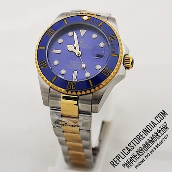 Rolex Submariner Dual Tone Blue Dial Automatic Men's Watch  Rs.4499/-  https://replicastoreindia.com/  Rolex Replica First Copy Watches  CASH ON DELIVERY ALL OVER INDIA  Contact Us - 9833686707 Email- Info@replicastoreindia.com  We Are Top Rated Replica First Copy Watches Dealer in India We Truly Believe In Quality We Sell Top Quality Swiss Made Replica First Copy Watches To Our Customers & Provide Best Customer Service  We Offer Free Shipping & Cash On Delivery Service All Over India.  #mystylemantra #look #styleblogger #fashionista #instagram #photography #women-fashion #womensfashion #shopping #onlineshopping #wedding #summerfashion #youtuber #black #trendy #makeup #beautiful #mumbai #cool #summer-style #loveyourself #style #ootd #model #followme #summerstyle #indianblogger #ethnic #myfirststory #fashionblogger #look #ropo-good #dress #india #indianblogger #shopping #shoes #model #mystylemantra #newdp #trendy #ropo-love #summer-style #roposogal #myfirstpost #swag #summerfashion #soroposo #desi #loveyourself #onlineshopping #roposolove #love #aselfieaday #springsummer #fashiondiaries #fun #ootd #makeup #beauty #ootd #outfitoftheday #lookoftheday #TagsForLikes #fashion #fashiongram #style #love #beautiful #currentlywearing #lookbook #wiwt #whatiwore #whatiworetoday #ootdshare #outfit #clothes #wiw #mylook #fashionista #todayimwearing #instastyle #TagsForLikesApp #instafashion #outfitpost #fashionpost #todaysoutfit #fashiondiaries #mystylemantra #look #styleblogger #fashionista #instagram #photography #women-fashion #womensfashion #shopping #onlineshopping #wedding #summerfashion #youtuber #black #trendy #makeup #beautiful #mumbai #cool #summer-style #loveyourself #style #ootd #model #followme #summerstyle #indianblogger #ethnic #myfirststory #fashionblogger #look #ropo-good #dress #india #indianblogger #shopping #shoes #model #mystylemantra #newdp #trendy #ropo-love #summer-style #roposogal #myfirstpost #swag #summerfashion #soroposo #desi #loveyourself #onlineshopping #roposolove #love #aselfieaday #springsummer #fashiondiaries #fun #ootd #makeup #beauty #ootd #outfitoftheday #lookoftheday #TagsForLikes #fashion #fashiongram #style #love #beautiful #currentlywearing #lookbook #wiwt #whatiwore #whatiworetoday #ootdshare #outfit #clothes #wiw #mylook #fashionista #todayimwearing #instastyle #TagsForLikesApp #instafashion #outfitpost #fashionpost #todaysoutfit #fashiondiaries #be-fashionable #happy #beauty #friends #good #new #quotes #amazing #haha #ropo-beauty #ropo-style #models #indian