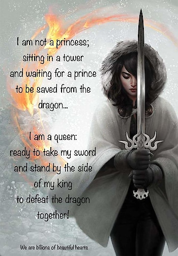 I m a #queen to be proved my #truelove ....with the #king