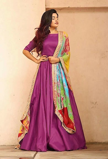 Exclusive Designer Gown For Women   🔹🔹🔹🔹GUARANTEED🔹🔹🔹🔹 💯✓Latest collection 💯✓Authentic products 💯✓Best price 💯✓Fastest Delivery 💯✓Service ▪ Top Fabric: Premium Quality Taffeta Silk ▪ Dupatta Fabric: Printed Cotton with Heavy Jacquard Lace ▪ Work Type: Plain ▪ Flair: 3 meter ▪ Color: All 12 Color available  ▪ Price:  Rs 1129/- ▪ Size: Free Size Upto XXL (semi stitched)  Follow @lov4design for awesome designer dresses, sarees, lehenga, Kurtis, jewelry and much more 🤗🤗🤗🤗🤗   #womensfashion #womanhood #salwarsuit #kurti #leggings #ethnicwear #cosmetics #handbags #traditionalindian #indianbeauty #indiantraditional #ladieswear #ornaments #art #saree #feminine #girly #fashionqueen #jewelry #embroidery #skirts #makeup  #designerlehenga #earrings #necklace #tops #gowns #wedding #bridal