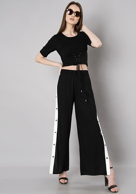 Get To The BOTTOM Of It! 😊  SHOP BOTTOMS - https://goo.gl/WNCuia  #cute #bae #weekend #thuglife #bindass #model #styles #bollywood #ropo-style #like #love #FabAlley #star #happyvibes #ilove #womanpower #mood #bottoms #pants