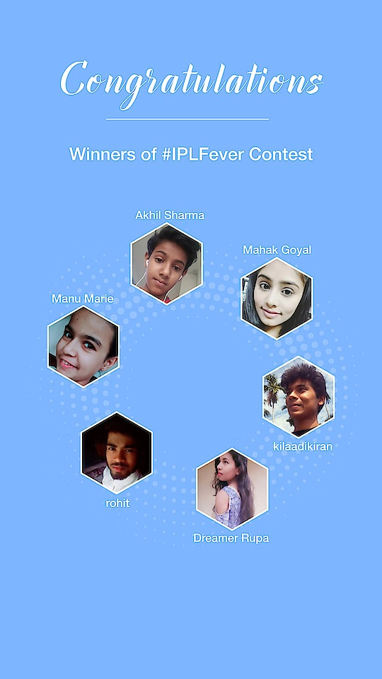 Congratulations @kilaadikiran @mahakgoyal03 @akhilsharma0207 @dreamer_rupa @manuma @roposopost 🎉🎉  Please share your details on chat!  Click on the Know More button and show some love to the winners 💗
