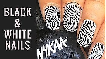 Black & White Nail Design   Nykaa Nail Polish   Designyournailsbyisha Products I used: ▪️Nykaa ▪️Beauty BigBang ▪️Bornprettystore  ▪️Aliexpress  . . . #designyournailsbyisha #ishanailart #nails #nailswag #naildesignideas #nailartforbeginner #nailarttutorial #nailartvideo #glamnails #nailblogger #youtuber #beautifulnails #prettynaildesign #blackandwhite #indiannailartist #blackandwhitenails #diynails #nailartstamping #nykaanailpolish #stampingnailart #instanails #soroposo  #roposoblogger #roposonailartblogger  IG:design_your_nails_by_isha❤️