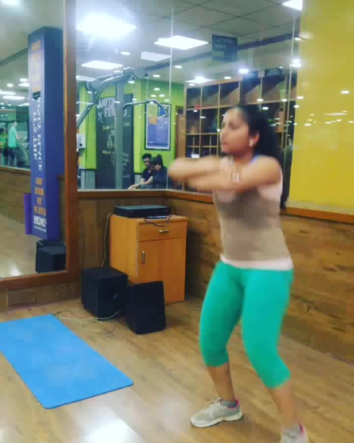 Workout is life  Squat Kicks  Squat Kicks  work on your leg muscles . You can add this exercise to your warm up, cardio or lower body workout. Asides from the benefits to your legs and glutes, this exercise is also very challenging to your core muscles.  #squatkicks #gabru  ##gabruchannel #trending #lookgoodfeelgood  #roposotalks #fitness #fitnessfreak #workoutsessions #workoutmotivation #twinklewithmystyle