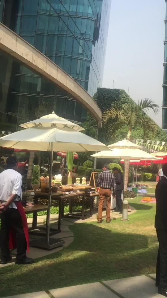 Hyatt regency mumbai sunday brunch.. #sundaybrunch #hyatt #hyatt-regency #mumbai #picnic #wanderlust