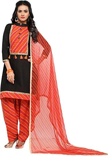 EthnicJunction Women Cotton #Patiala Style Unstitched #Dress Material @ Rs.499.Buy Now at http://bit.ly/2r7Az3N