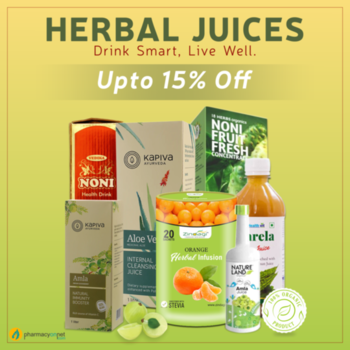 Juice up your life with best herbal juices available online in India only at Pharmacyonnet.com.  A healthy outside starts from the inside. So kick off your day to a super start by indulging in 100% pure and authentic – Herbal, Ayurvedic and Organic juices,  that too, offered at best prices! Fruit juices, smoothies, vegetable juices, detox juices, aloe vera , karela (bottle gourd), Amla (Indian gooseberry), neem - you name it and we have it. Drink your way to a healthy life. View complete range here : https://www.pharmacyonnet.com/345-herbal-juices #aloeverajuice #amlajuice #nonijuice #karelajuice #jamunjuice #wheatgrassjuice #triphalajuice, #neemjuice #beetrootjuice #herbaljuiceonline #pharmacyonnet