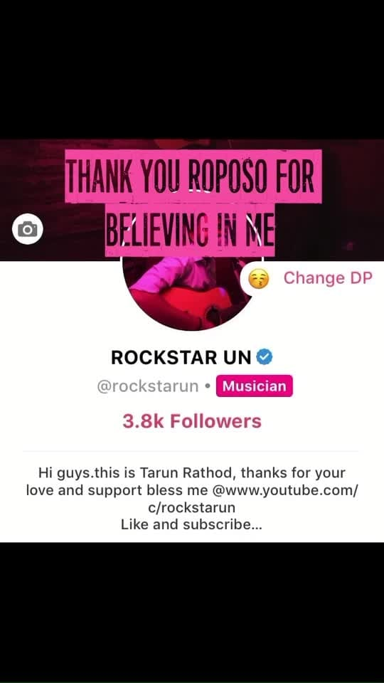 #roposostar #musician #life #started #nightlife #musiclove @roposocontests @love766 @roposotalks @roposobusiness @sushi26 @trishad444bbcd