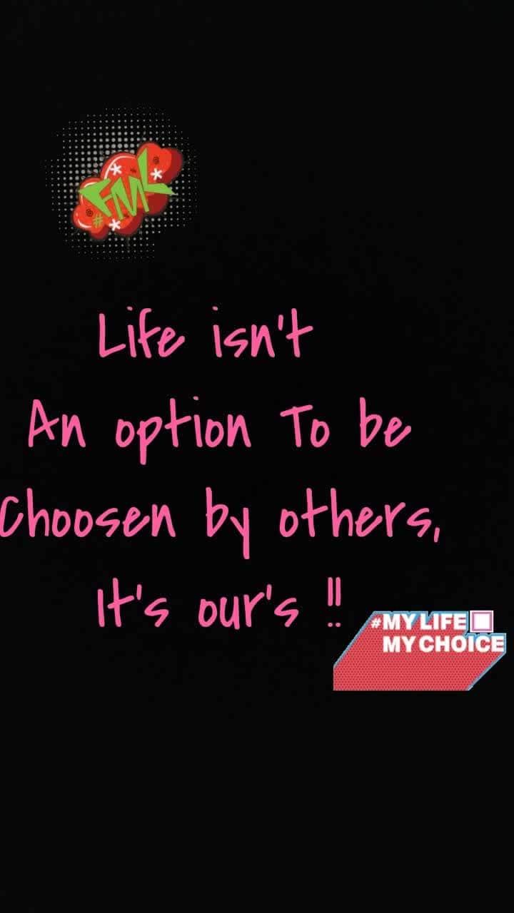 #lifequotes #mylifemychoice #fuckmylife