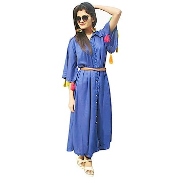 Fashion is about dressing according to what is fashionable style is more about being yourself Here are some trendy and fashionable dress from the house Rajkumari #trendydress #fashionabledress #stylishkurti #casualkurta #longKurta     Buy now:- https://amzn.to/2HP1SX1