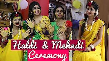 Sister's Haldi & Mehndi Ceremony | Dance & Rituals | Indian Wedding2018 Highlights | Shweta Verma #indian-festival #indianwedings #haldiceremony #haldi #haldiceremonyshoot #indian-mehndi #mehandi #weddding #weddinghighlights #ethnic #ethnic-wear #wedding-bride #brides #dance #sangeet #sangeetfunction #ootd #weddingdance #bridedanceperformance