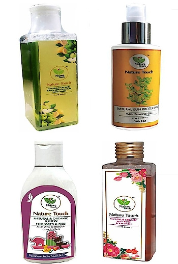 Nature Touch Present Organic and Natural PRODUCT for Your Dail Needs. #cosmetics #beautyproducts #facewash #bodylotion #roposo-styles #makeupforever #skincare #everydaycarry   *Link https://bit.ly/2rnT4Bm