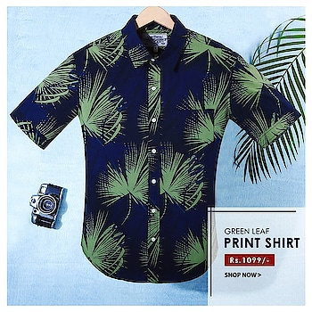Nail the tropical traveler fashion   🌴| Shop @https://goo.gl/JUq5fo   #menswear #fashion #shopping #holidayshirts #printedshirt
