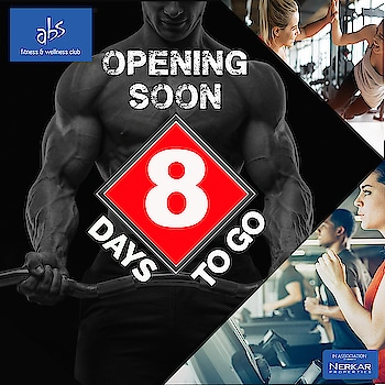 #NashikFame  #absnashik #absfitnessnwellness #absworkout #AbsFitnessNWellness #abs #AbsNashik #fitnessfirst #workout #healthymind #healthybody #fattofit #FitnessCountDown #FitnessGoals #workout #bodybuilding #cardio  #newgym #comingsoon  #in #nashikcity  #only  #8daystogo #countdown #fitnesscountdown #countdownstarts