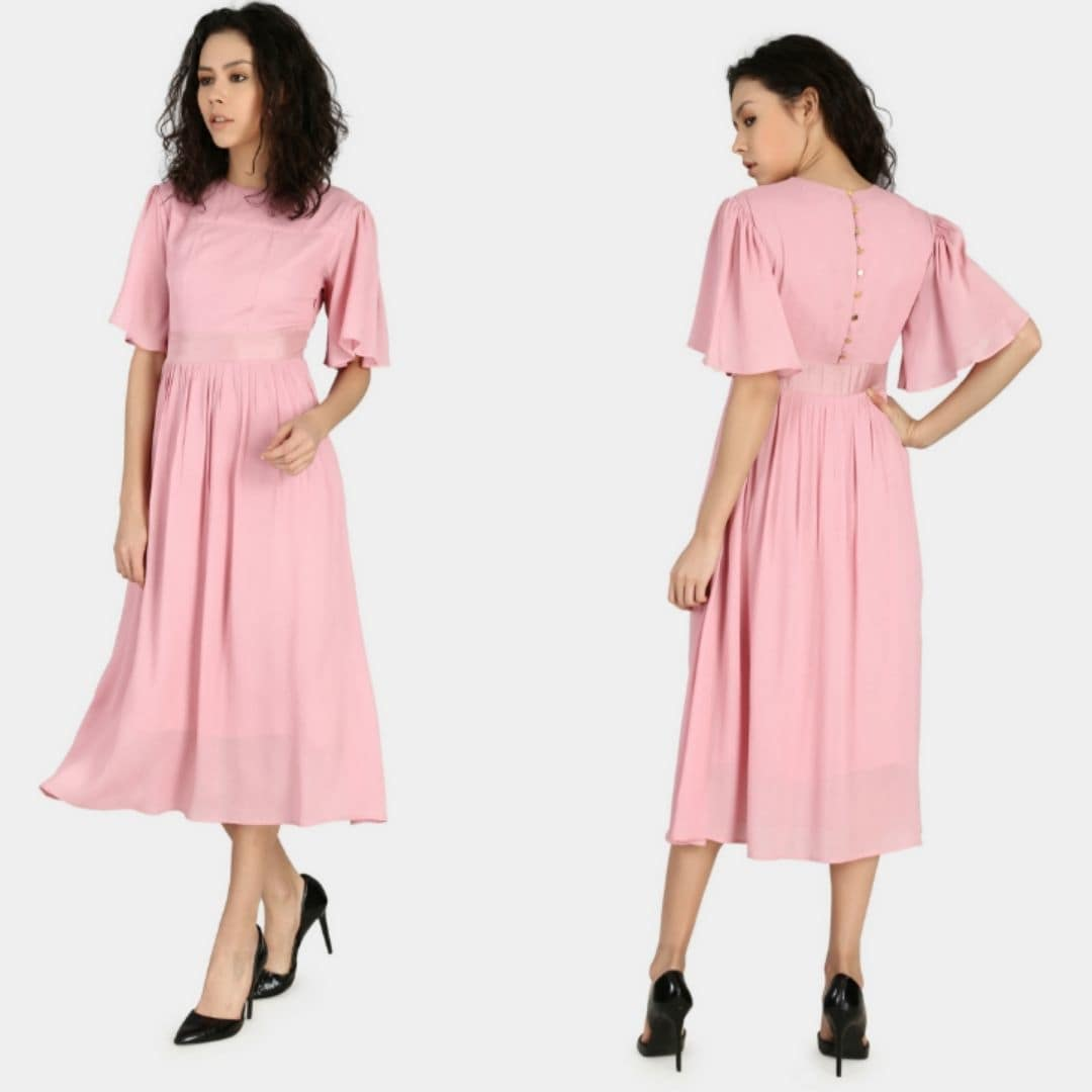 Custom-Made Long Dress In Silk.. https://in.samshek.com/product/detail/long-dress-in-silk  #online-shopping #customize #dress #pinkdress #silkdress #customise #onlinedresses #westernwear #women-style #womendress #longdress #custom #dress #online