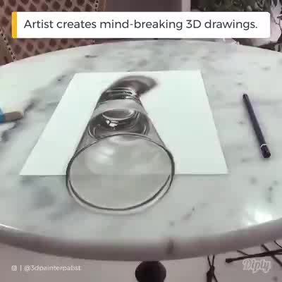 What a 3D art it is