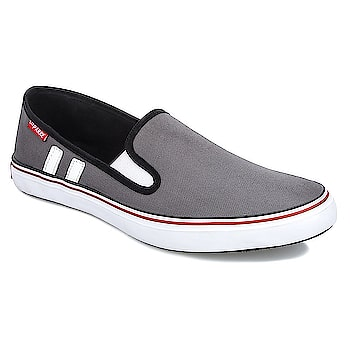 LeeParke Slip on Men Grey Casual. A perfect combination of comfort, style, and workmanship, LeeParke is all about confidence and making a fashion statement. Its flaunting design pattern sparks a cool statement as you take a step ahead in them.  https://www.amazon.in/dp/B07BYW6ZN7  #menshoes #shoes #womenshoes #canvasshoes #shoesformen #sliponshoes #laceshoes