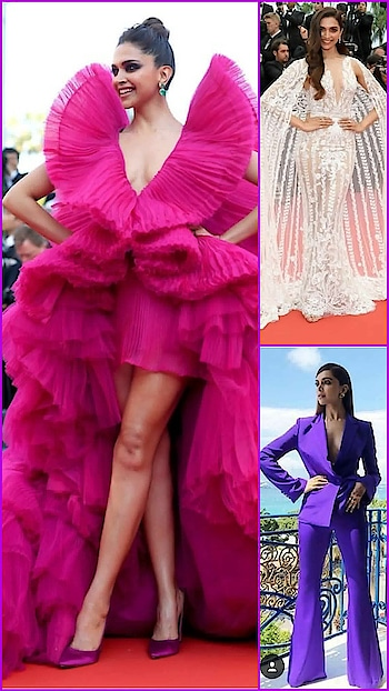 💜 STYLE ON MY MIND 💜 Best of Deepika padukone at Cannes Film Festival.😍😍😍  #instyle #fashionupdate #be-in-trend #ropo-fashion #stylereport #stying #designer-wear #formals #gowns#ropo-beauty #accessories #celebstyle #bollywoodstyle #roposo-makeupandfashiondiaries #roposofashionbloggernetwork #delhifashionbloggernetwork