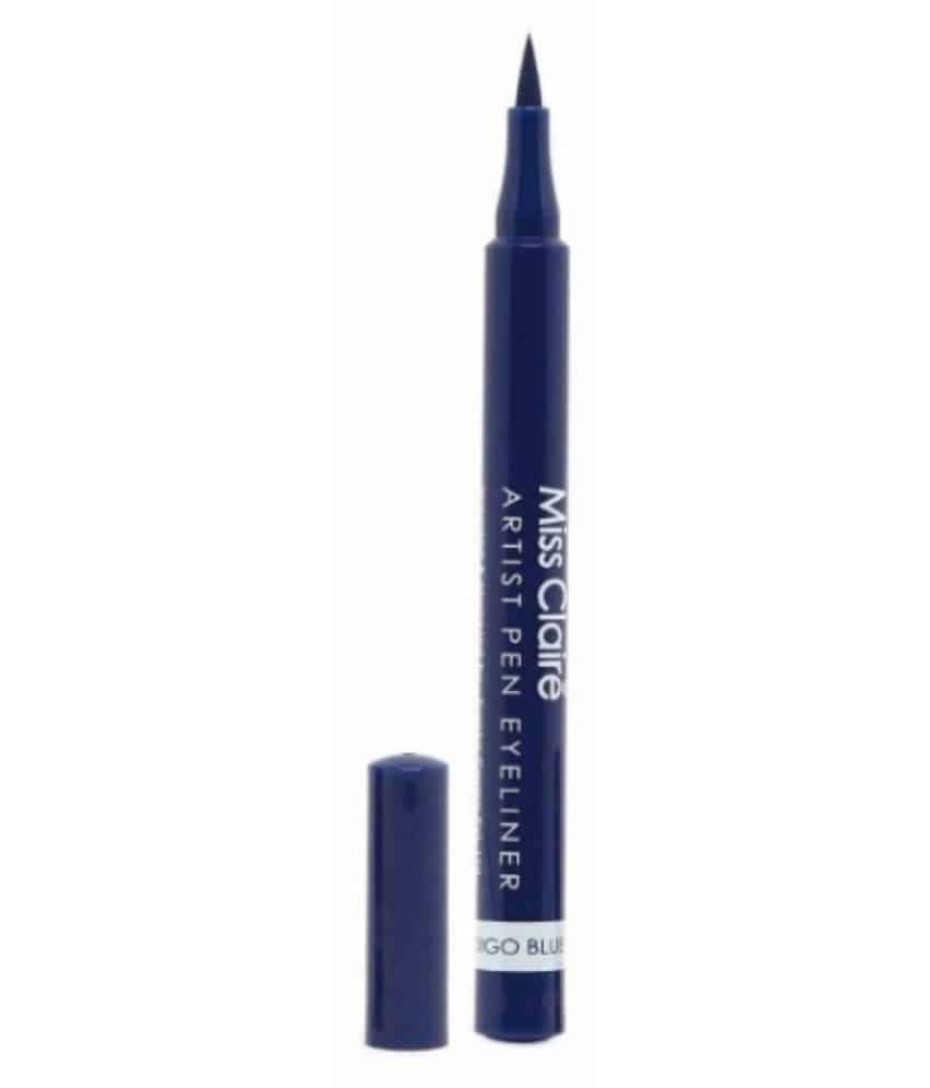 Miss Claire Stick Eyeliner Blue 1.2 gm  Miss Claire Type:Stick Application Area:Eye Product Colour Shade:Blue  #beauty #products #branded #high #quality #liner #lipstick #makeup #highlighter #concealer #cream  Buy Now:- https://bit.ly/2KcLa4z